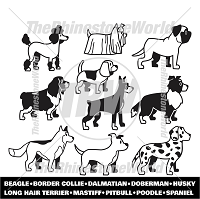Cartoon Dogs Mini Pack 2